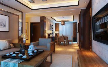 青岛龙湖原山三室二厅全包装修效果图