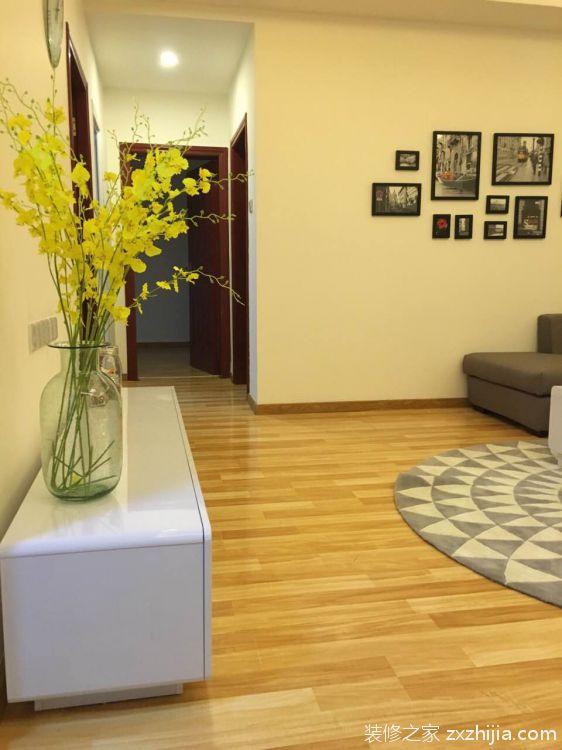 翡翠居三室一厅宜家装修效果图