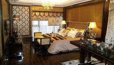 淘金山样欧式古典卧室效果图