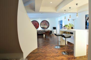金鸡湖花园别墅现代简约四室二厅装修效果图
