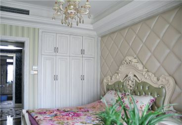 中海金沙湾新古典卧室效果图