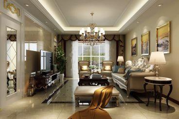 宏泰佳城三室二厅现代简约装修效果图