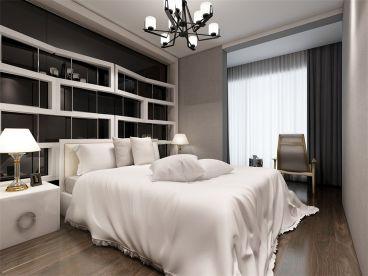 奥莱城后现代卧室效果图