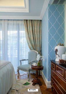 内森庄园欧式古典卧室效果图