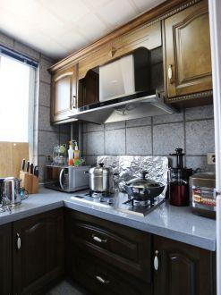 之江九里美式厨房效果图