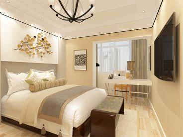 奥莱城 时尚混搭卧室效果图