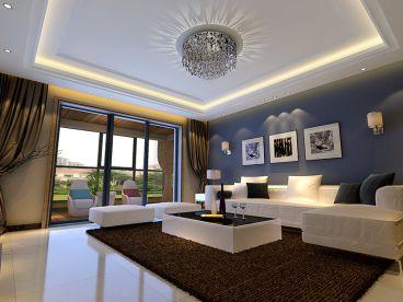 银和怡海天越湾现代简约六室二厅装修效果图