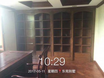 东苑别墅欧式古典书房效果图