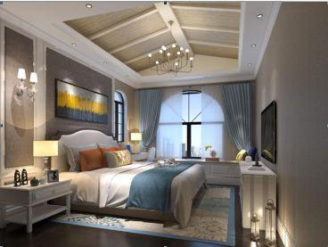 美加印象北欧卧室效果图
