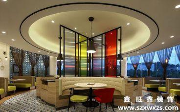 深圳宝安餐厅520平装修效果图