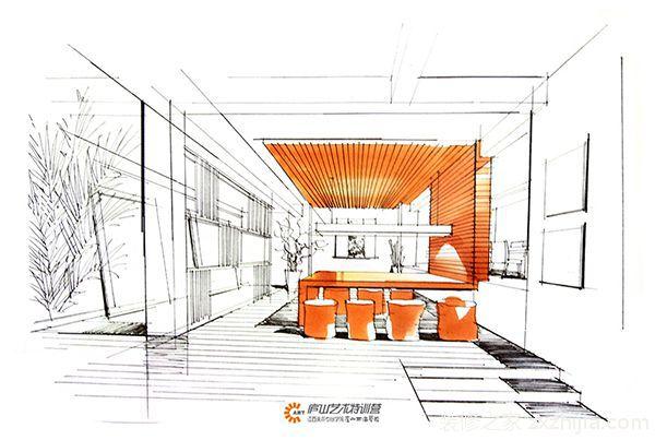 吉宝澜岸铭郡五室三厅后现代装修效果图