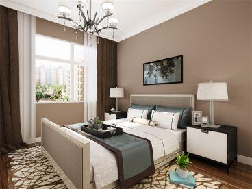 秋瑞家园现代简约卧室效果图