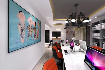 TIT创意园现代简约零室零厅装修效果图