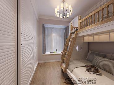 新亚洲体育城水木清华现代简约卧室效果图