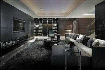 新洲国际小区三室一厅全包装修效果图