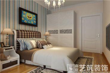 高新艾湖小区宜家卧室效果图