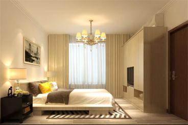 润景·园著现代简约卧室效果图
