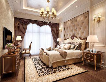 雅居乐滨江国际欧式古典卧室效果图