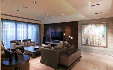 海河大观新古典客厅效果图