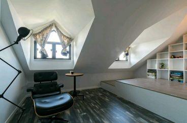 华尔兹二室二厅工业风装修效果图