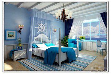 东升花园二室二厅120平装修效果图