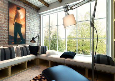 绿都塞纳春天三室二厅160平装修效果图