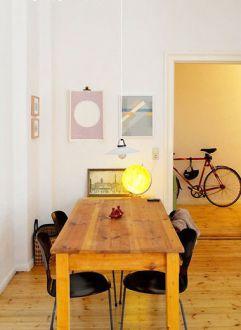 富民河畔家园二室一厅宜家装修效果图