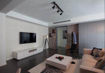 巴黎都市72平二室一厅装修效果图