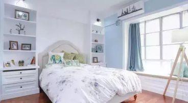 紫珺华府现代简约卧室效果图