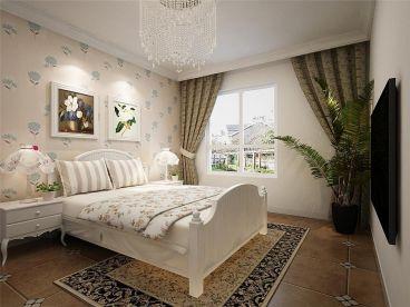 溢彩家园恬淡田园卧室效果图