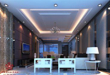 润地凤凰城90平二室二厅装修效果图