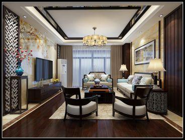靖西市阳光城162平五室二厅装修效果图