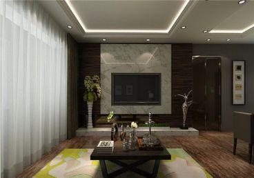 万科金域国际二室一厅89平装修效果图
