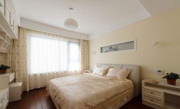 公园伍号中式卧室效果图