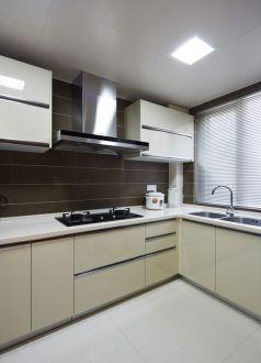 金陵村现代简约厨房效果图