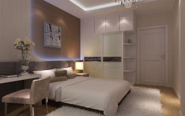 防城港中央商务区CBD海港城后现代卧室效果图