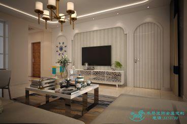 加州世纪尊品简欧三室二厅装修效果图