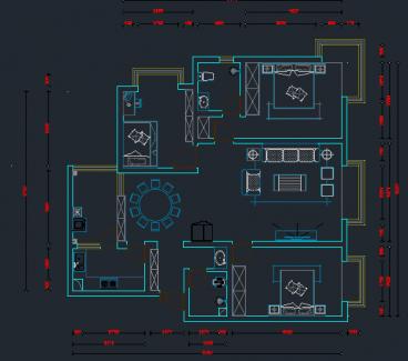 经典明苑全包中式装修效果图