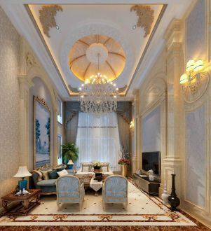伯顿庄园六室二厅365平装修效果图