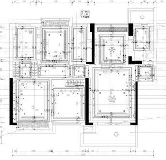 天宇澜山四室二厅216平装修效果图