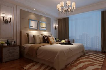西城逸品欧式古典卧室效果图