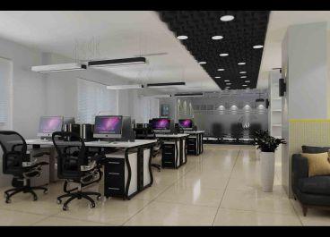 吉祥建材外贸部办公室改造零室零厅纯设计装