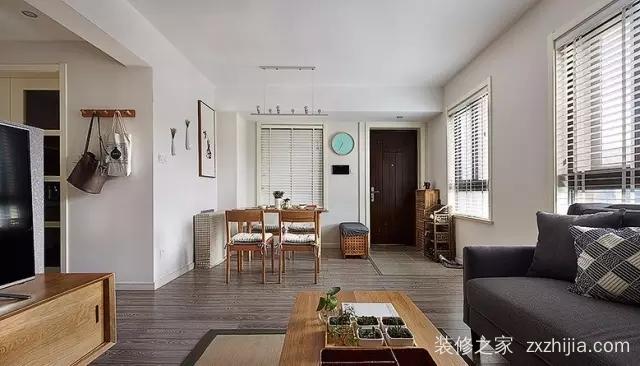 港湾江城全包二室二厅装修效果图