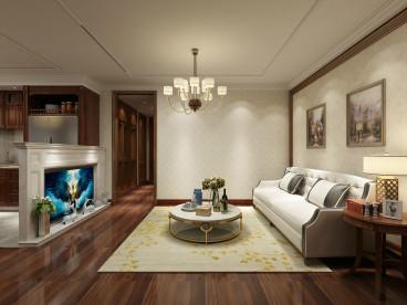 银枫家园103平二室二厅装修效果图