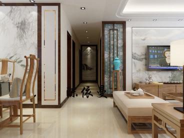 名悦山庄三室二厅全包装修效果图