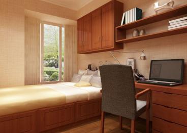 米兰小镇三室二厅全包装修效果图