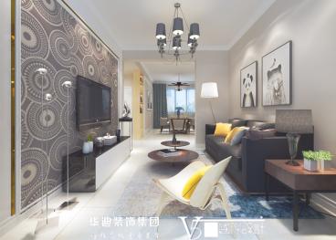 金葡萄家园二室一厅全包装修效果图