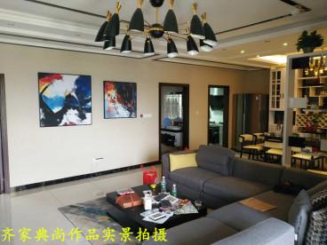花果园132平三室二厅装修效果图