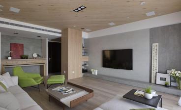 兰州大名城四室二厅现代简约装修效果图