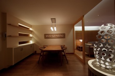 海润滨江四室二厅中式装修效果图